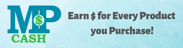 Earn MP Cash When You Purchase  - MintProducts Loyalty Program