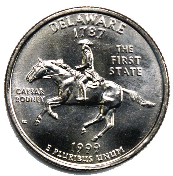 1999 D Pennsylvania State Quarter BU