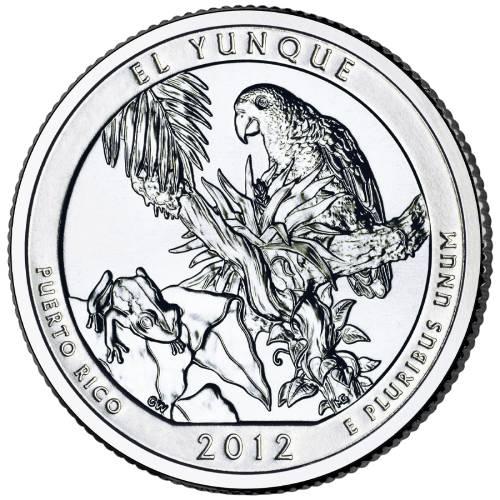 3 COIN SET P,D /& S UNCIRCULATED 2012  DENALI NATIONAL PARK QUARTER ALASKA