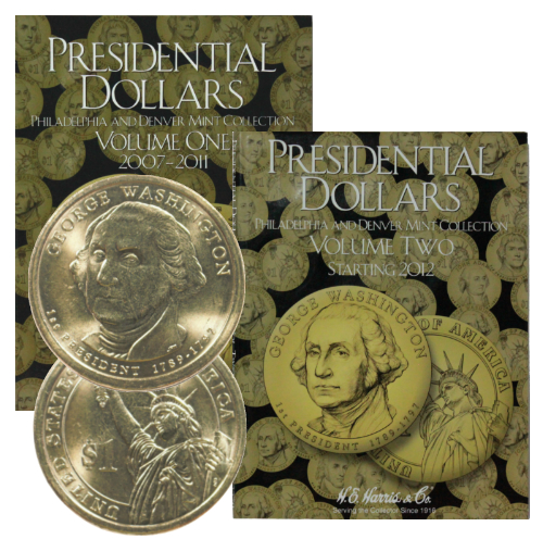 2015  P Presidential Dollar Coin Set 4 Coins UNCIRCULATED Free Shipping
