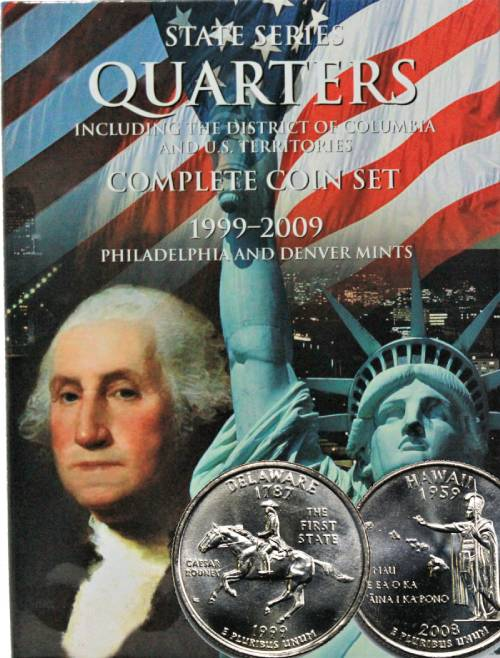 1999-2009 STATE AND TERRITORY QUARTERS **P/&D** 112 GEM BU COINS PLEASE READ