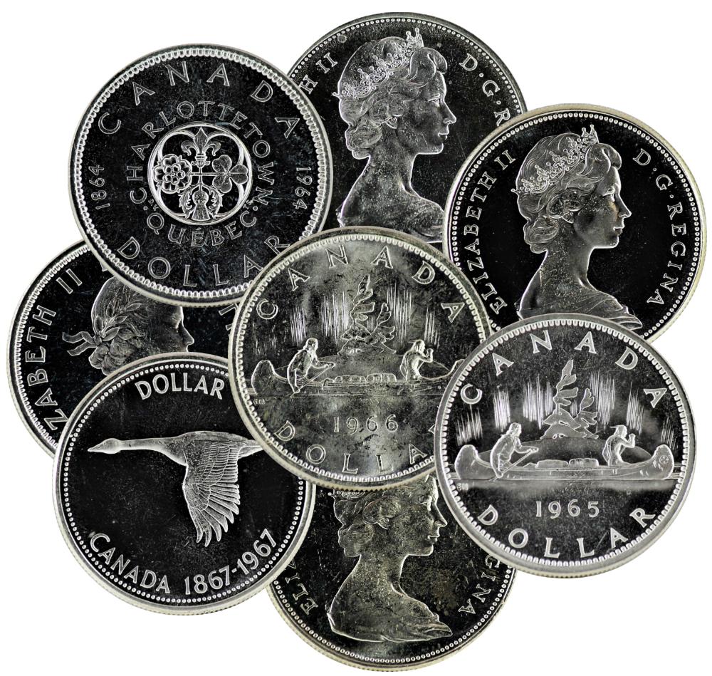 Canada 1959 Five Cents Gem BU!!