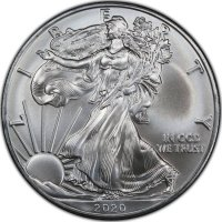American Silver Eagle Coins (1986-2021)