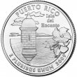 2009 Puerto Rico Territory Quarter Coin - P or D Mint - BU