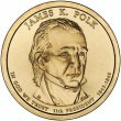 2009 James K. Polk Presidential Dollar Coin - P or D Mint