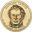 2009 Zachary Taylor Presidential Dollar Coin - P or D Mint
