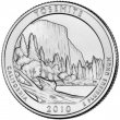 2010 Yosemite Quarter Coin - P or D Mint - BU