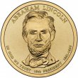 2010 Abraham Lincoln Presidential Dollar Coin - P or D Mint