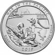 2019-W War in the Pacific Quarter Coin - W Mint - BU