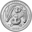 2020 National Park of American Samoa Quarter Coin - P or D Mint - BU