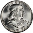 1961-D Franklin Silver Half Dollar Coin - Choice BU