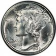 1936 Mercury Silver Dime Coin - Choice BU