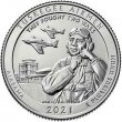 2021 Tuskegee Airmen National Historic Site Quarter Roll - P or D Mint - BU