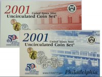 2001 U.S. Mint Coin Set