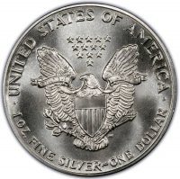 1988 1 oz American Silver Eagle Coin - Gem BU