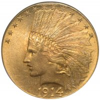 $10.00 Indian Head Gold Eagle Coins - Random Dates - BU