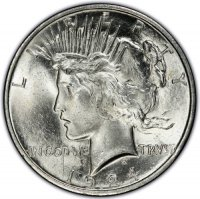1924 Peace Silver Dollar Coin - Brilliant Uncirculated (BU)