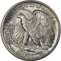 1942 Walking Liberty Silver Half Dollar Coin - BU