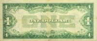 1928 $1.00 Funny Back Silver Certificate - Small Type - Good / Very Good