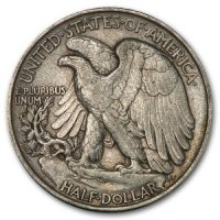 1916-1947 20-Coin 90% Silver Walking Liberty Half Dollar Roll - XF