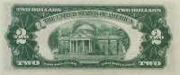 1963 $2.00 U.S. Note - Red Seal - Extremely Fine
