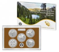 2019 America the Beautiful Quarters Proof Coin Set