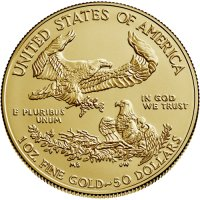 1 oz American Gold Eagle Coin - Random Date - Gem BU