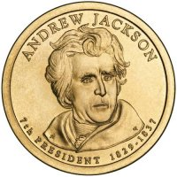 2008 Andrew Jackson Presidential Dollar Coin - P or D Mint