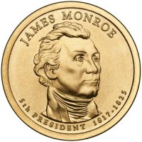 2008 James Monroe Presidential Dollar Coin - P or D Mint
