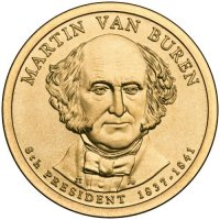 2008 Martin Van Buren Presidential Dollar Coin - P or D Mint