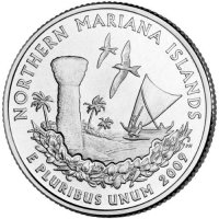 2009 Northern Mariana Islands Territory Quarter Coin - P or D Mint - BU