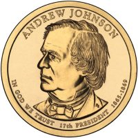 2011 Andrew Johnson Presidential Dollar Coin - P or D Mint