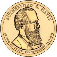 2011 Rutherford B. Hayes Presidential Dollar Coin - P or D Mint