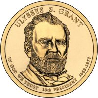 2011 Ulysses S. Grant Presidential Dollar Coin - P or D Mint