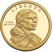 2013 Native American Proof Golden Dollar Coin - S Mint