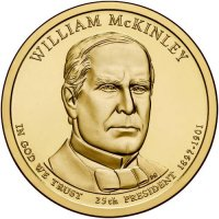 2013 William McKinley Presidential Dollar Coin - P or D Mint