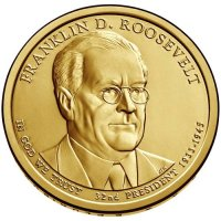 2014 Franklin D. Roosevelt Presidential Dollar Coin - P or D Mint