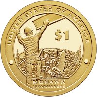 2015 Native American Proof Golden Dollar Coin - S Mint