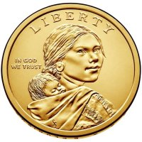 2015 Native American Golden Dollar Coin - P or D Mint