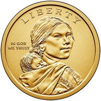 2016 Native American Golden Dollar Coin - P or D Mint