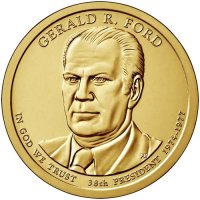 2016 Gerald Ford Presidential Dollar Coin - P or D Mint
