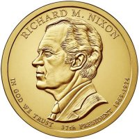 2016 Richard Nixon Presidential Dollar Coin - P or D Mint