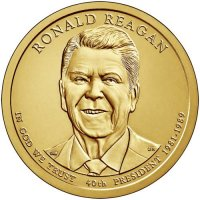 2016 Ronald Reagan Presidential Dollar Coin - P or D Mint