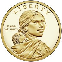 2018 Native American Proof Golden Dollar Coin - S Mint