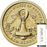 2019 25-Coin New Jersey American Innovation Dollar Rolls - P or D Mint