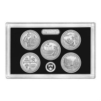 2019 America the Beautiful Silver Quarters Proof Coin Set