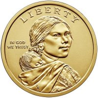 2019 Native American Golden Dollar Coin - P or D Mint