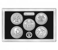2020 America the Beautiful Silver Quarters Proof Coin Set