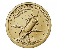 2020 Maryland American Innovation Dollar Coin - P or D Mint