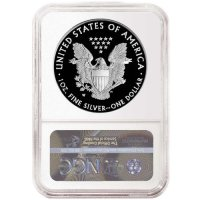 2021-W 1 oz Proof American Silver Eagle Coin - Type I - NGC PF-69 Ultra Cameo Early Releases